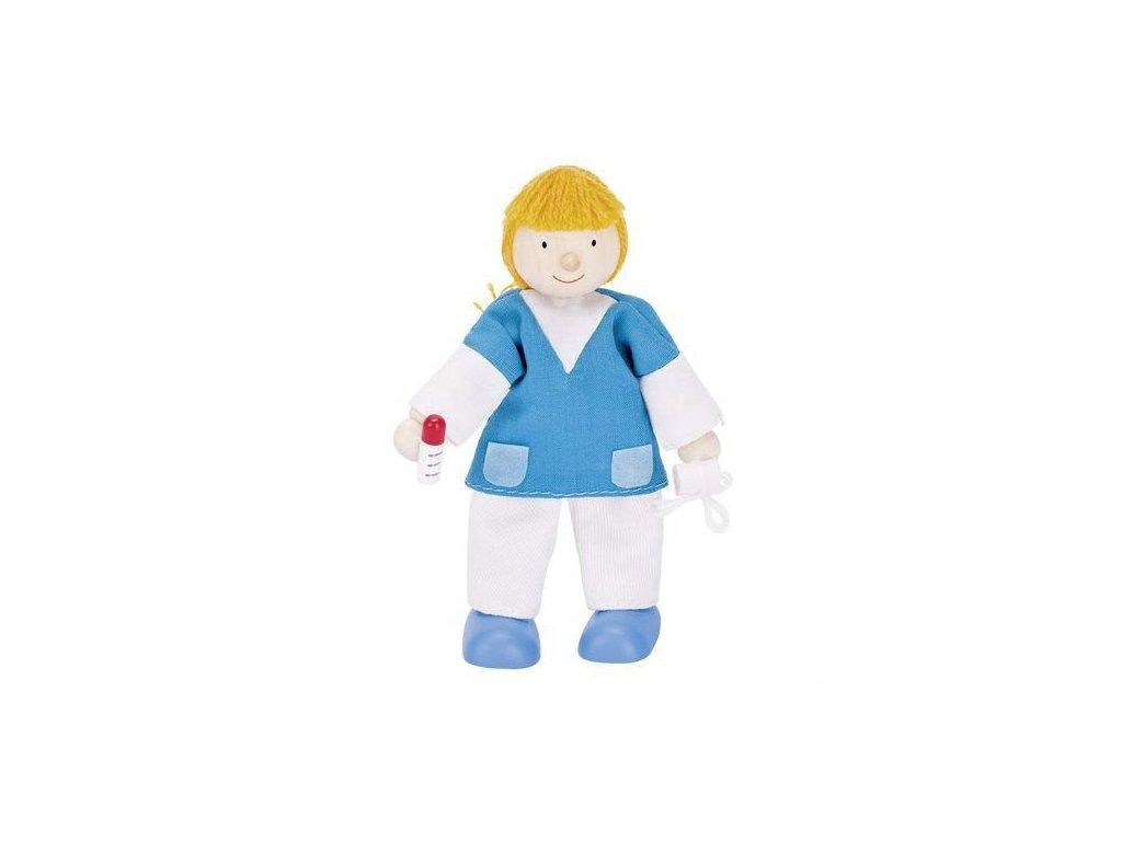 Panenka do domečku nemocnice – zdravotní sestra