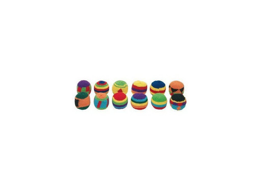 Háčkované žonglovací míčky Hakisáky - 1ks