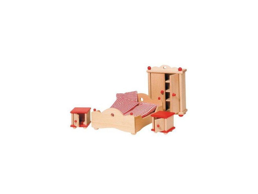 Nábytek pro panenky – ložnice STYLOVÁ