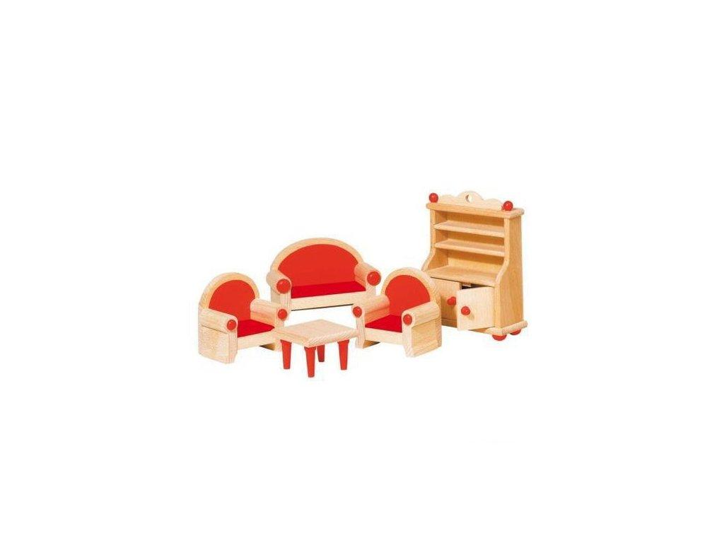 Nábytek pro panenky – obývací pokoj STYLOVÝ