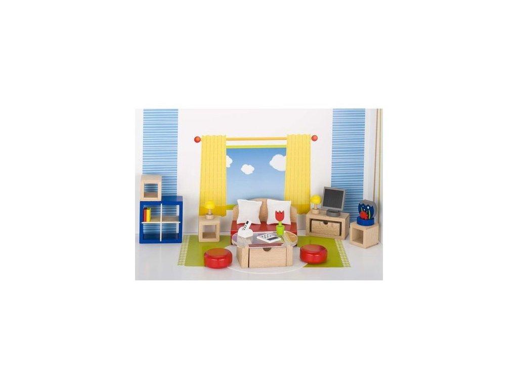 Nábytek pro panenky – obývací pokoj TREND