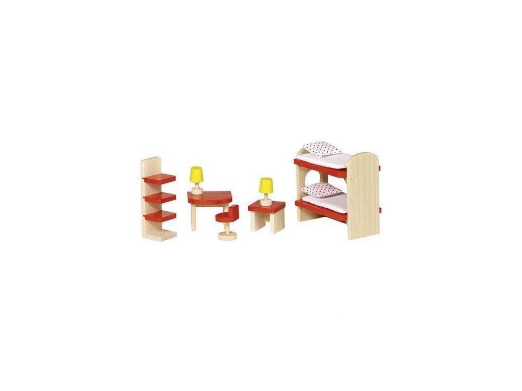 Nábytek pro panenky – dětský pokoj BASIC