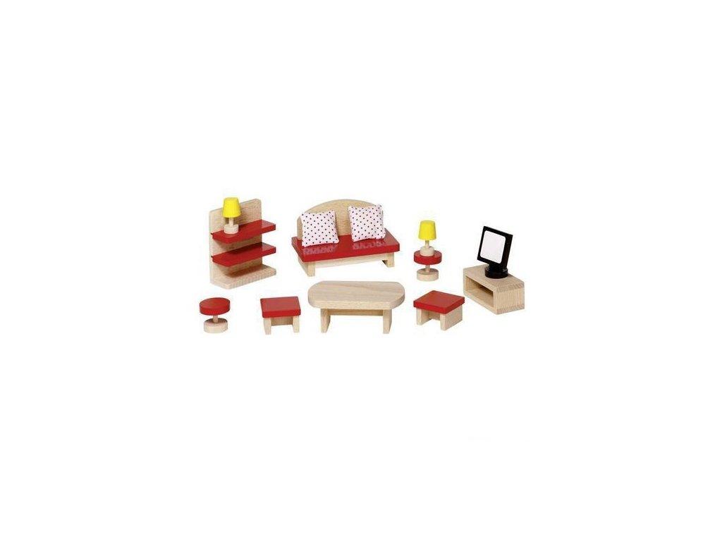 Nábytek pro panenky – obývací pokoj BASIC