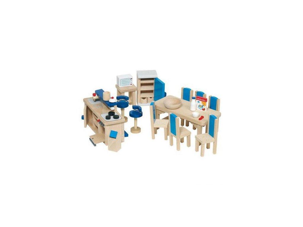Nábytek pro panenky – kuchyň MODERNÍ