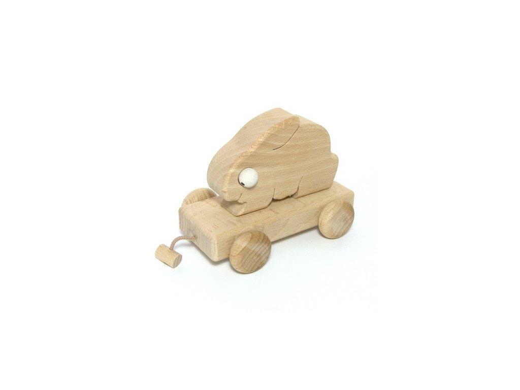 Králík - dřevěný vagon Honzík