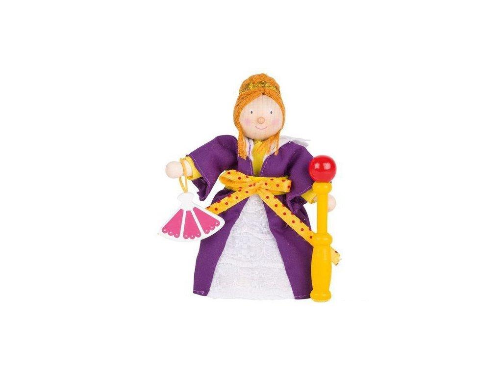 Panenka do domečku zámek – královna