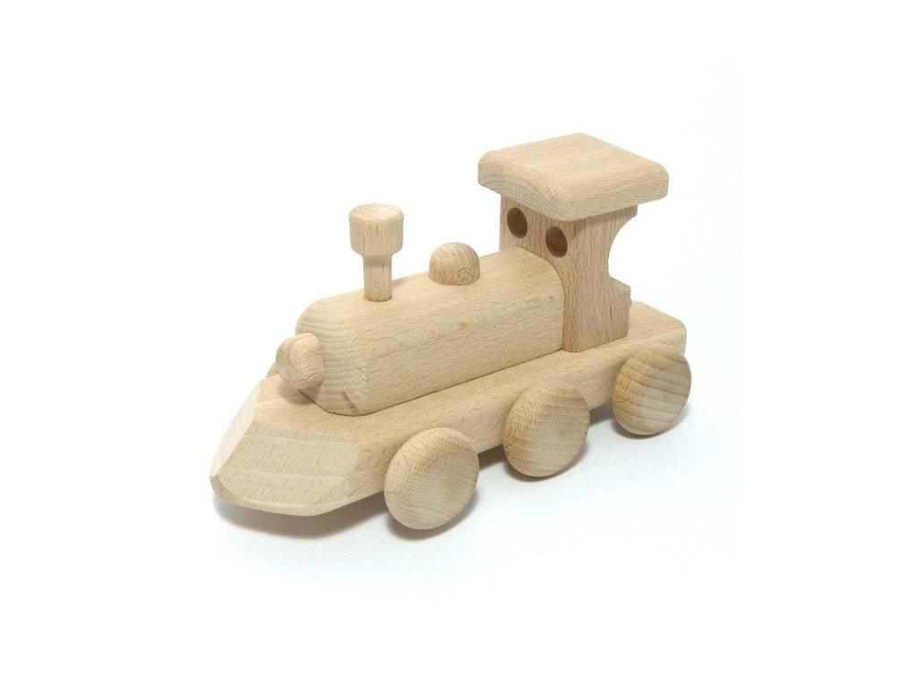 Dřevěná mašinka Honzík