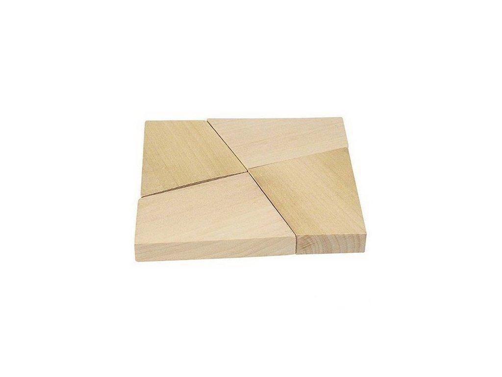 Dřevěný hlavolam – Magický čtverec