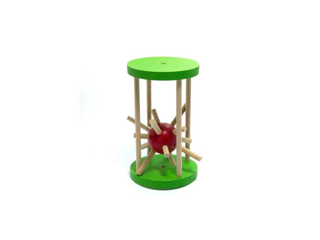 Ježek v kleci - velký zelený