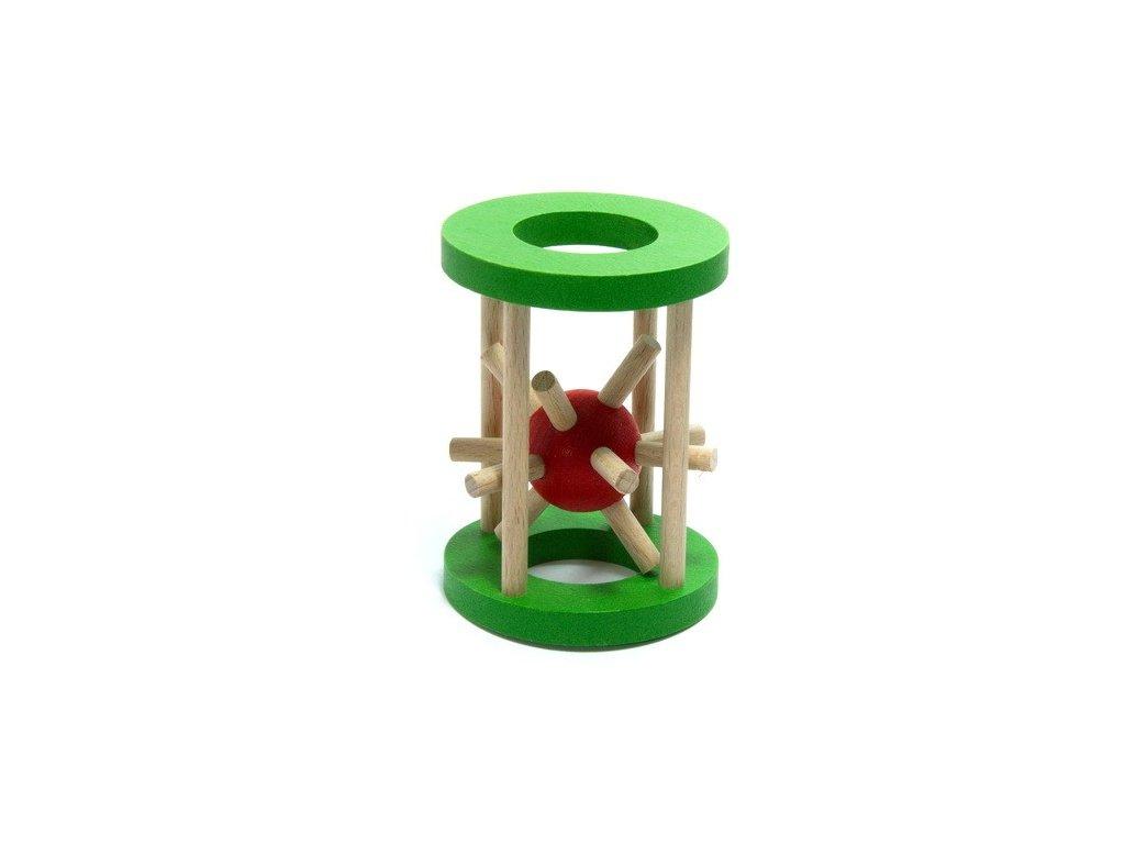 Ježek v kleci - malý zelený