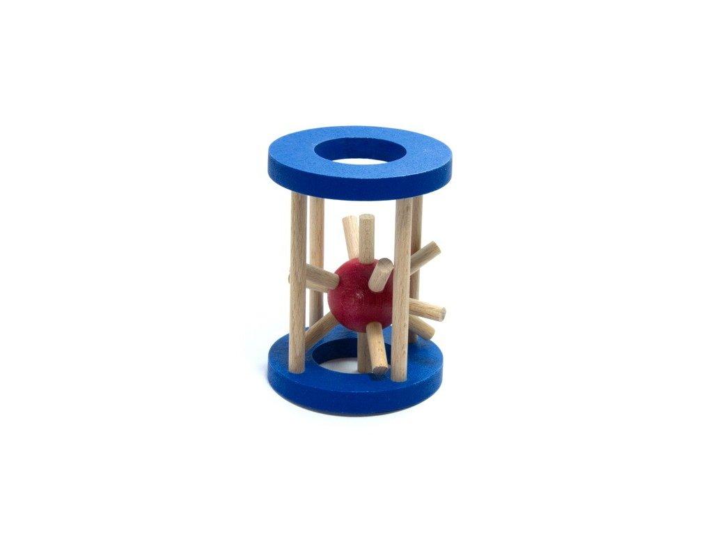 Ježek v kleci - malý modrý