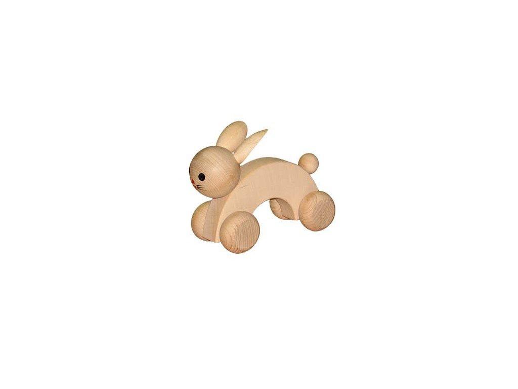 Dřevěný králík přírodní