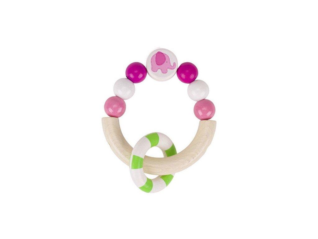 Růžové slůně – hračka pro nejmenší