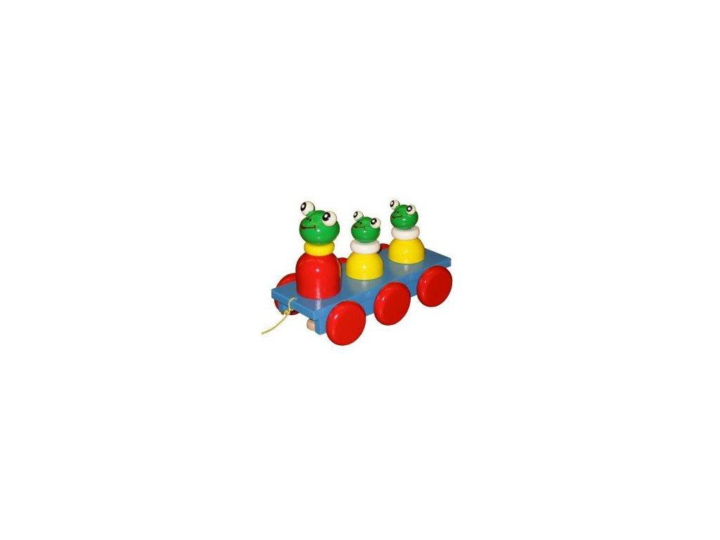 Tři žabky barevné