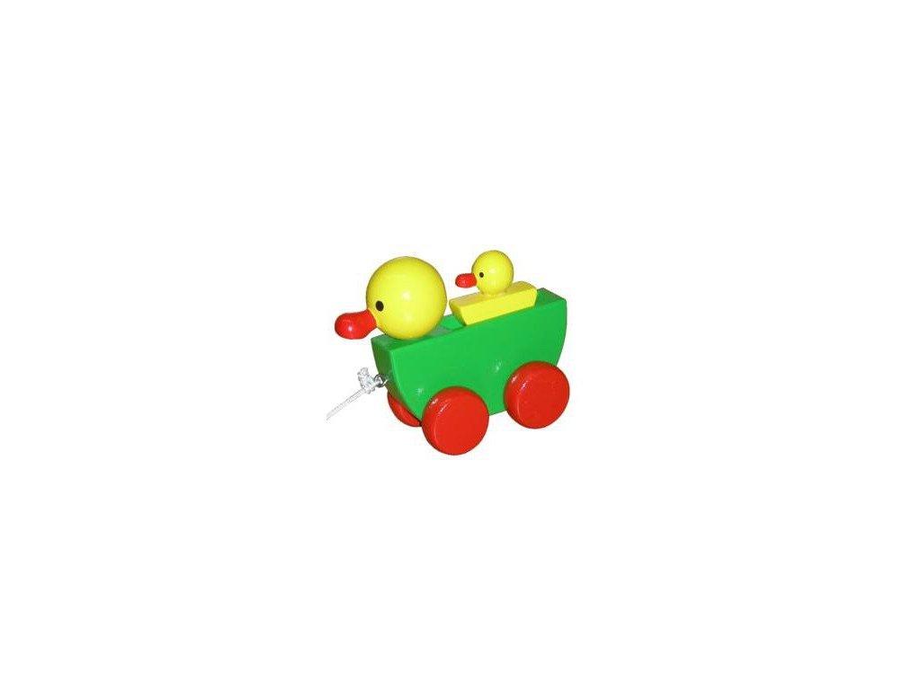 Tahací kačenky barevné