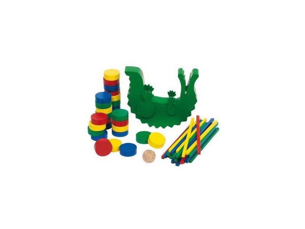 Dovednostní hra – Krokodýl, 60 dílů