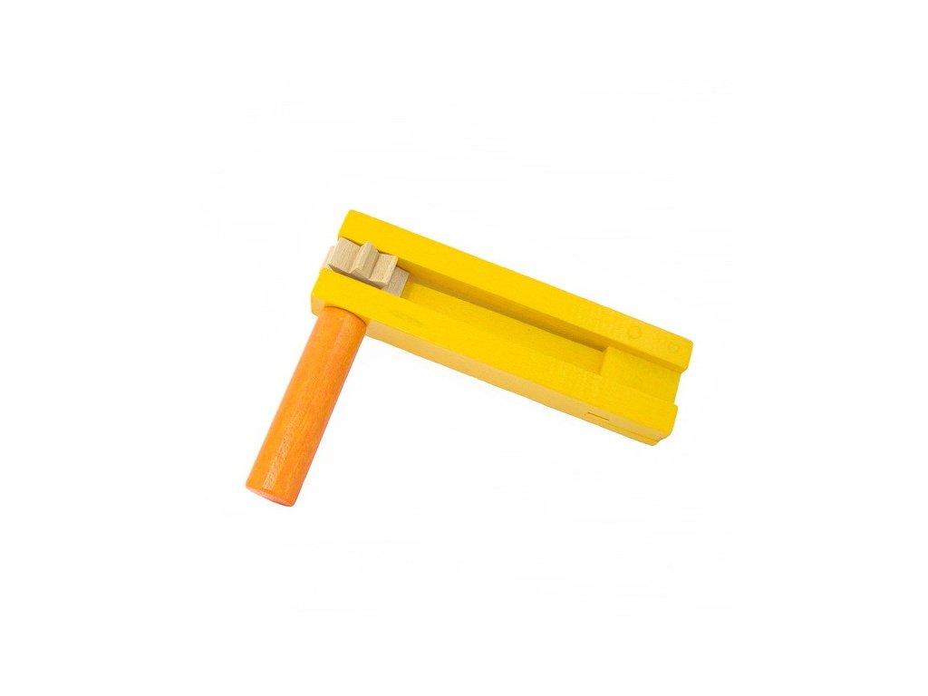 Řehtačka žlutooranžová