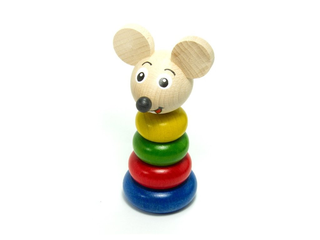 Skládačka barevná - Myška