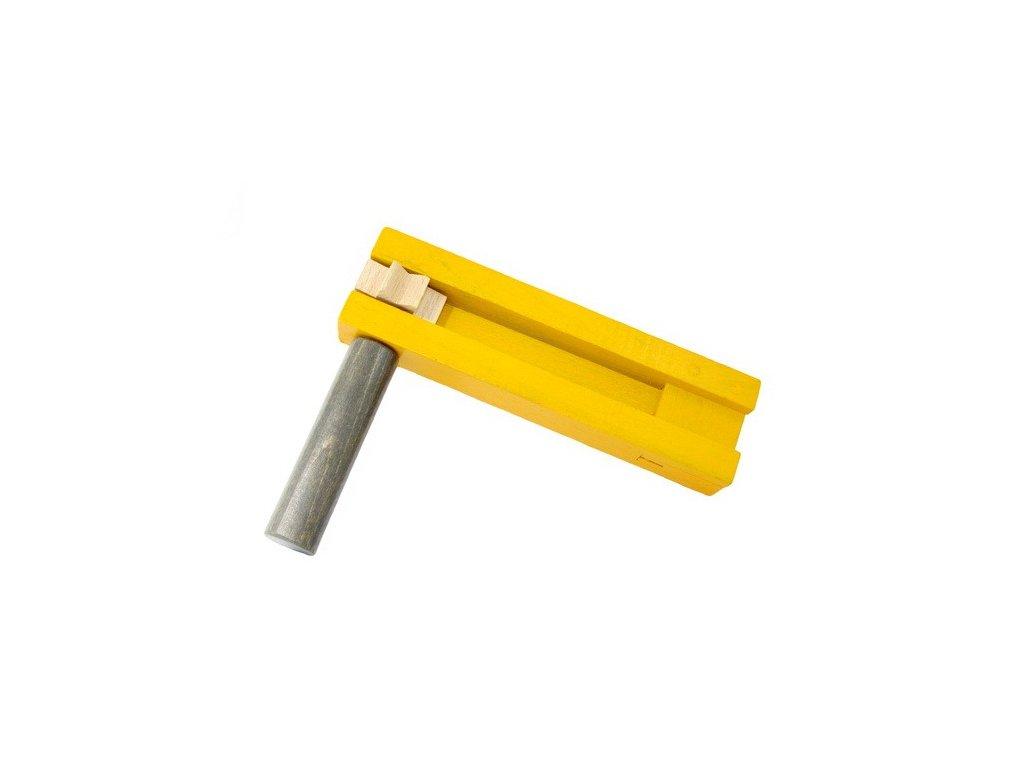 Řehtačka žlutošedá