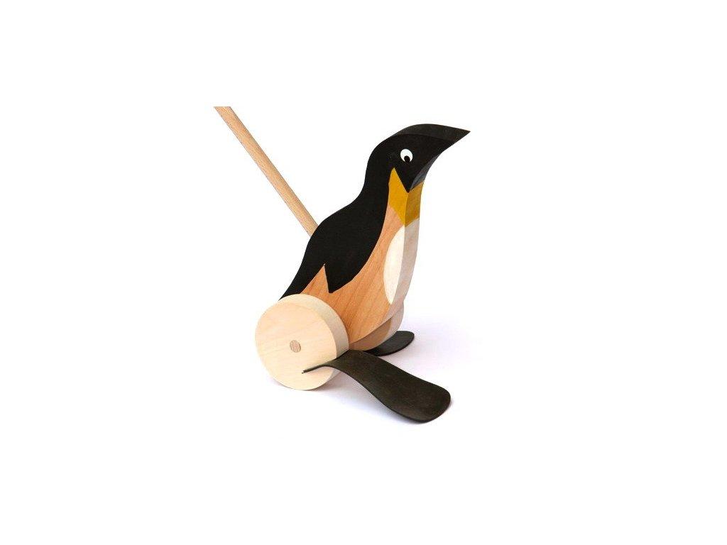 Tučňák na tyči - plácačka