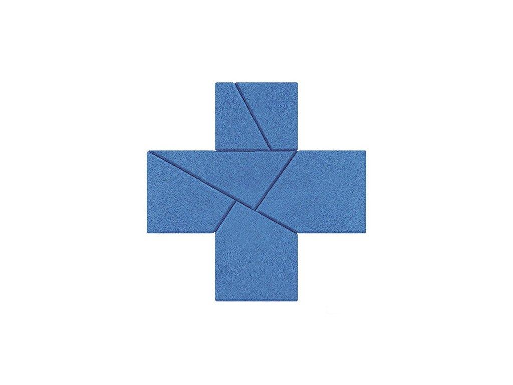 Kamenné puzzle - zpropadený kříž