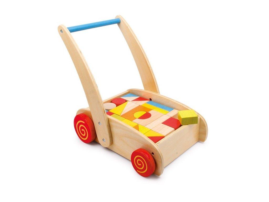 """Didaktický vozík """"Stavebnice"""""""