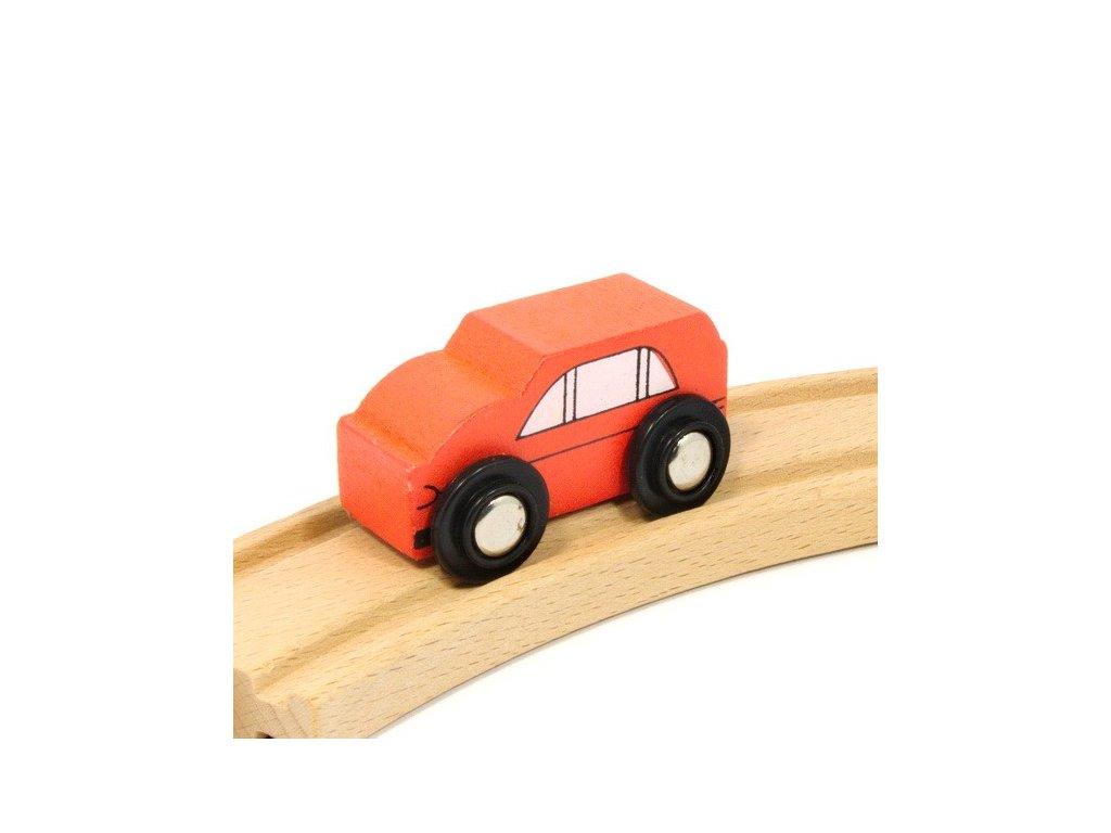 Auto oranžové k vláčkodráhám