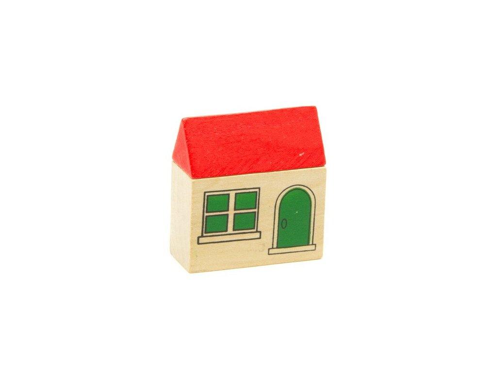 Domeček zelený