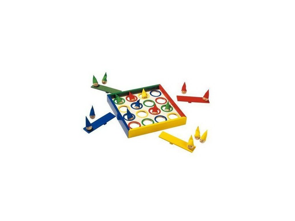 Společenská hra – Kloboučku hop trpaslíci