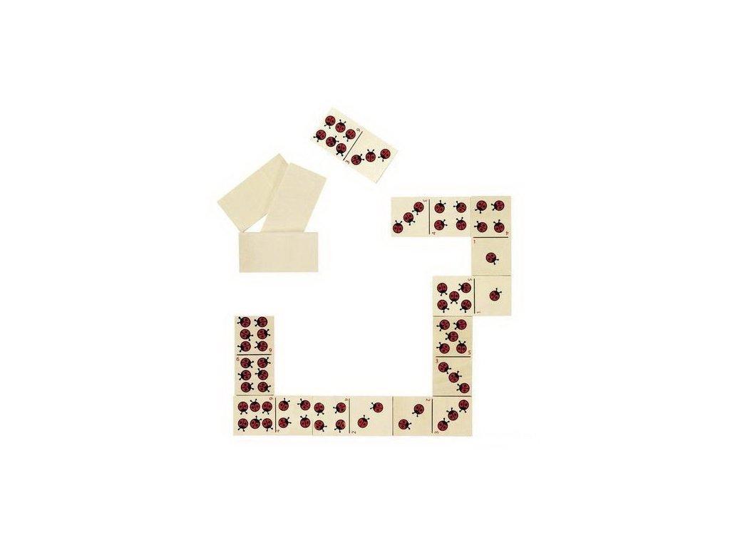Domino berušky, 28 dílů