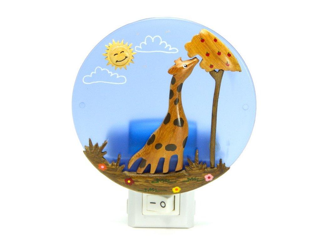 Noční světlo - Žirafa