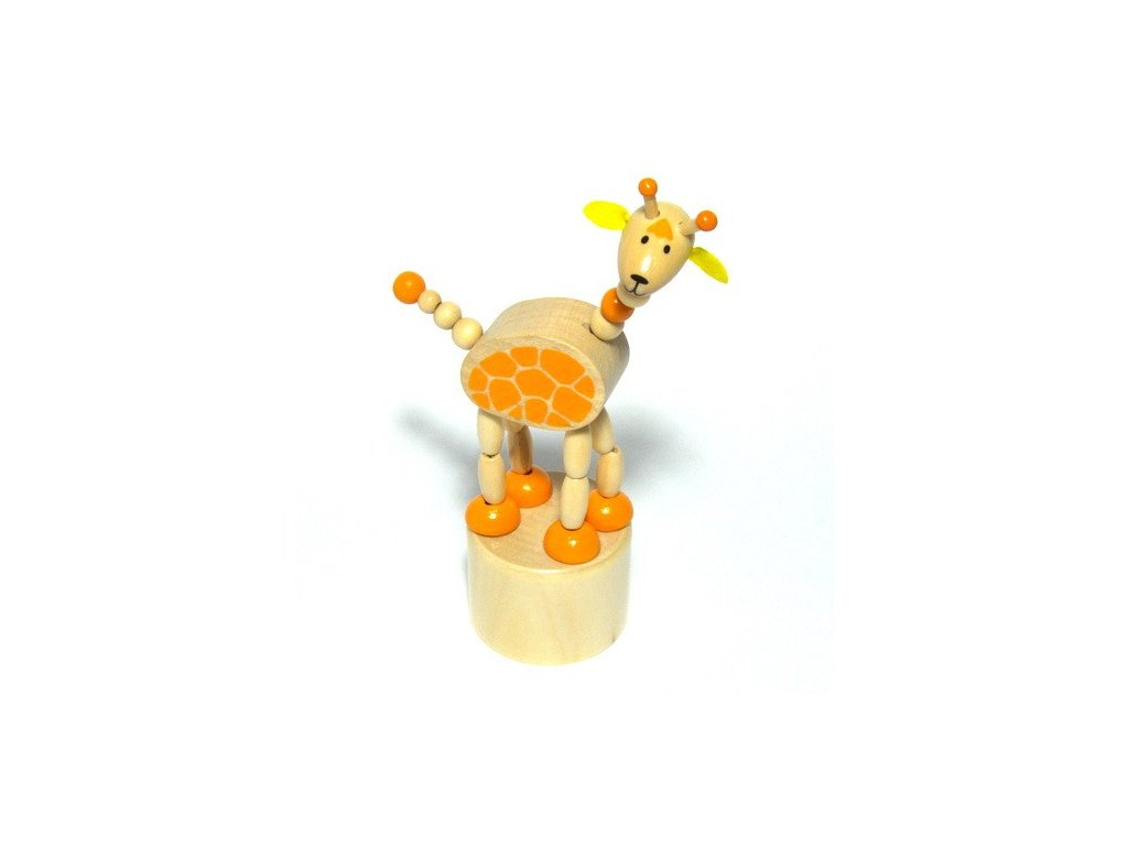 Mačkací zvířátka Afrika - Žirafa