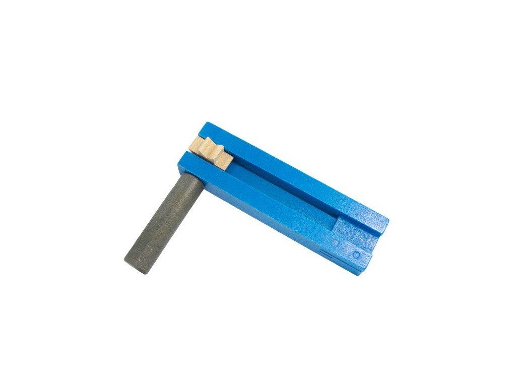 Řehtačka modrošedá