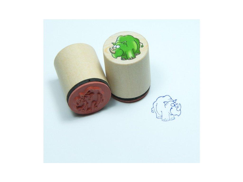 Goki Nosorožec - dřevěné razítko