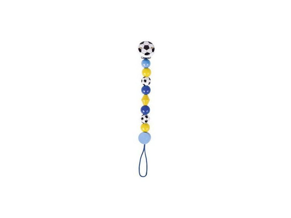Modrý fotbal – šňůra na dudlík