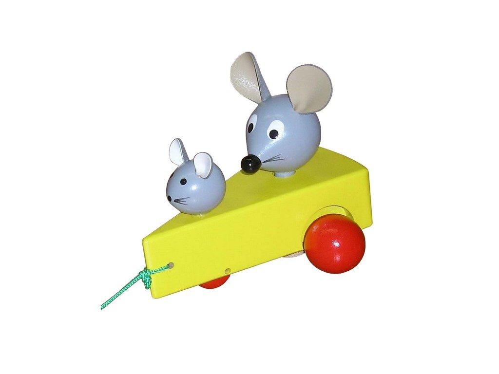 Tahací myšky v sýru