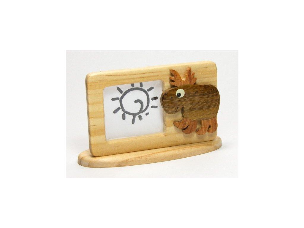 040 - Los - rámeček tropické dřevo