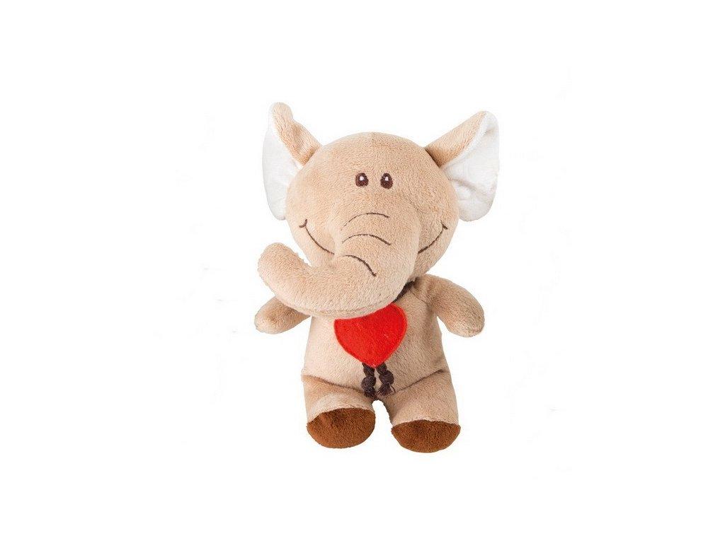 Slon - plyšové zvířátko