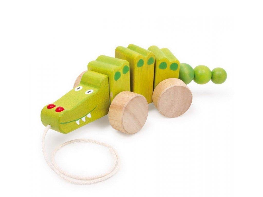Krokodýl na kolečkách