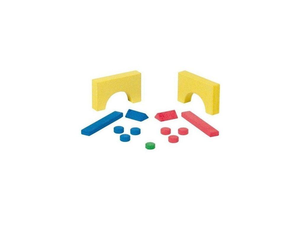 Kamenná stolní sada her – 5 v 1