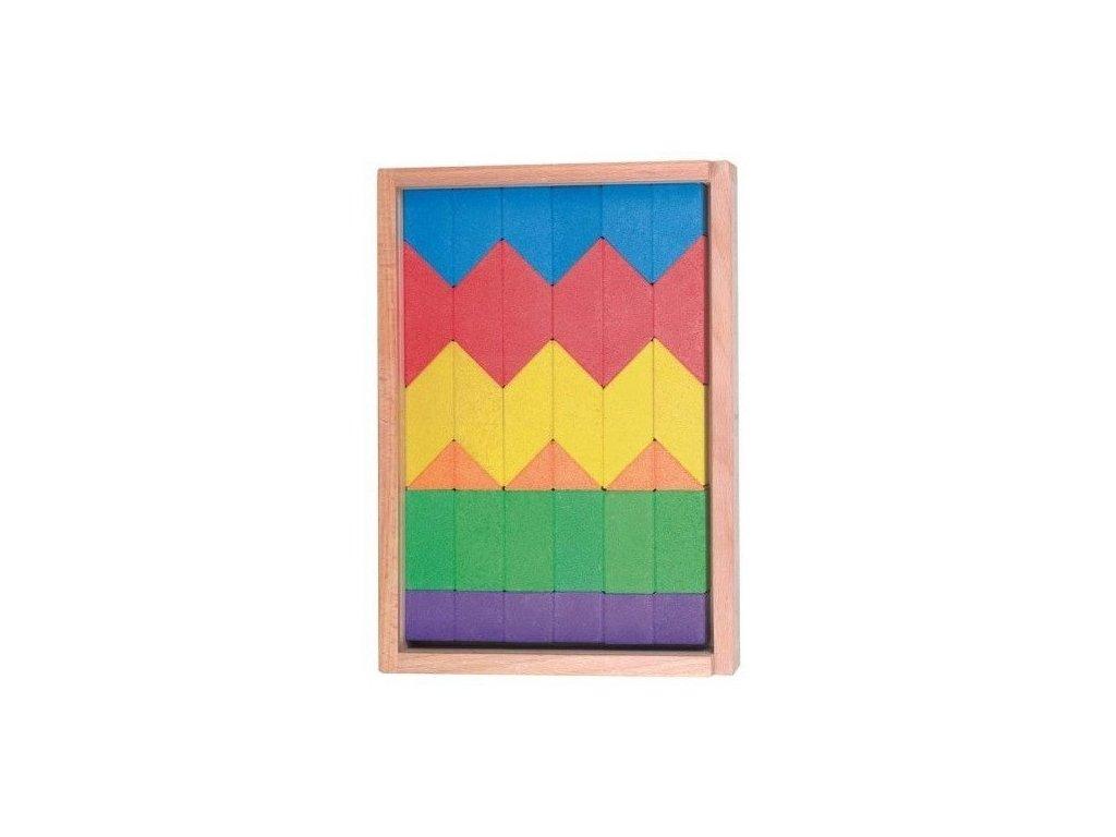 Stavební kostky – Barvy