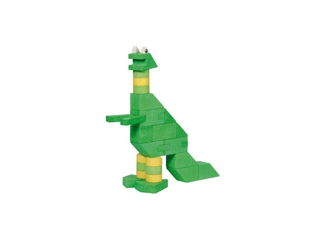 Dinosaurus Brontomos s předlohami - 105 dílů