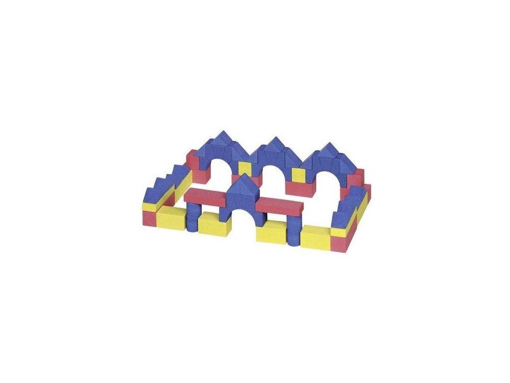 Stavební kostky z kamene junior V, 55 ks