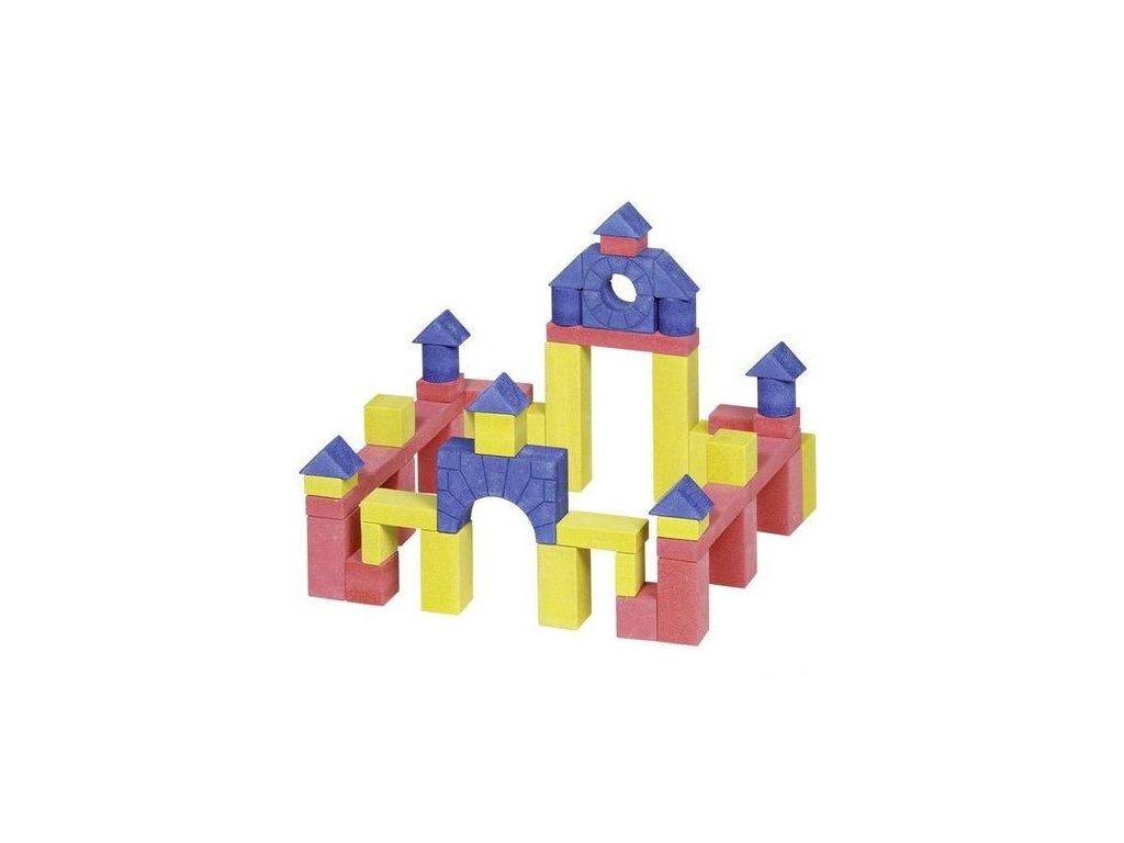 Stavební kostky z kamene junior III, 55 ks