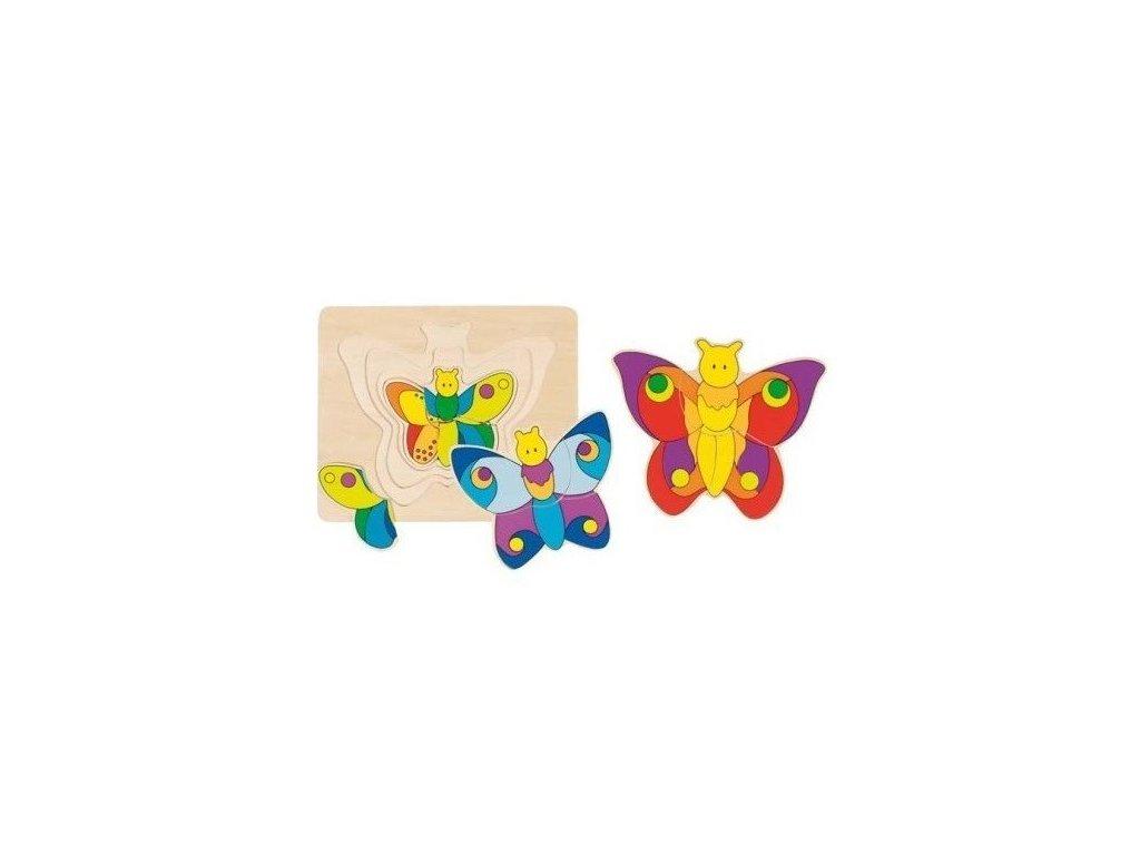 Puzzle - Motýlek