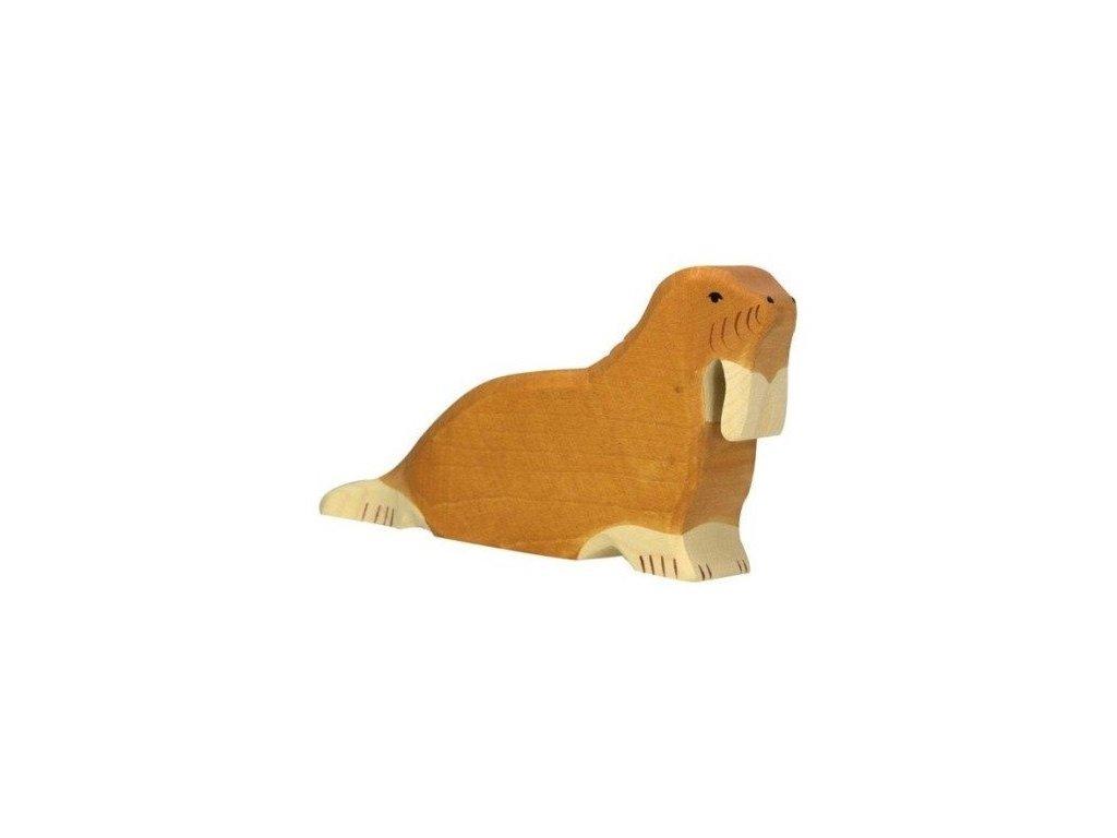 Mrož – dřevěné zvířátko