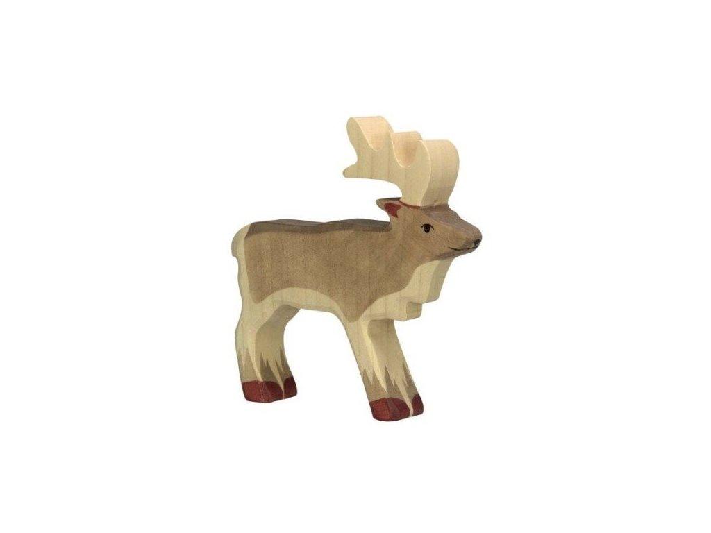 Sob – dřevěné zvířátko