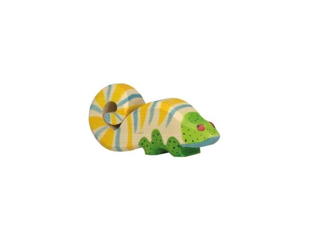 Chameleon – dřevěné zvířátko