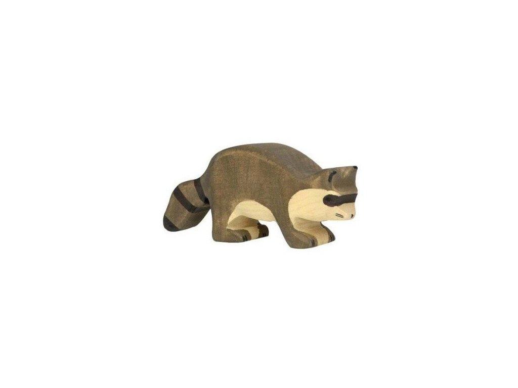 Mýval – dřevěné zvířátko