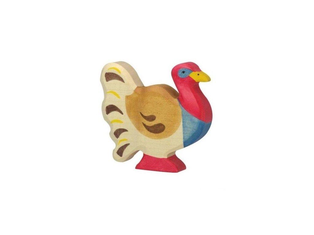 Krocan – vyřezávané zvíře ze dřeva